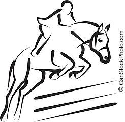 sport, lovaglási