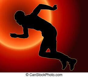 sprinter, hím, napnyugta, hát