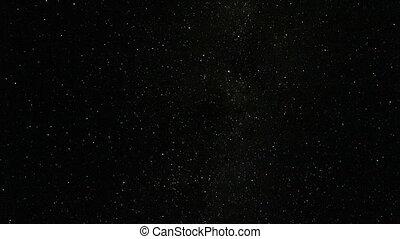 starfall, ég, éjszaka