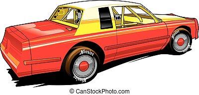 stocl, hobbi, versenyfutó, autó