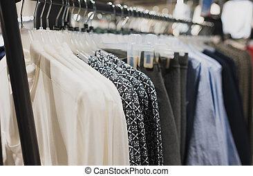 store., ing, ruházat keret