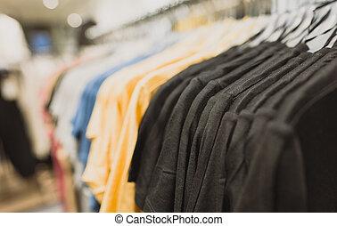 store., trikó, ruházat keret