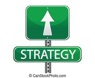 stratégia, fogalom, utca cégtábla