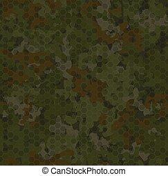 struktúra, ősz, motívum, erdő, camouflage., háttér, seamless