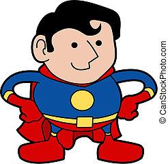 superhero, ábra