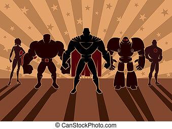 superhero, befog