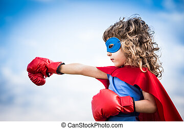 superhero, kölyök