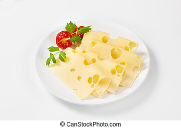 svájci sajt, szelet