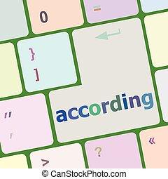 számítógép, gombol, beír, szerint, ábra, vektor, kulcs, billentyűzet
