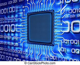 számítógép, kettes számrendszerhez tartozó, szilánk