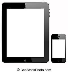 számítógép, smartphone, tabletta