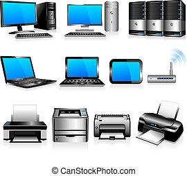 számítógépek, technológia, nyomdászok