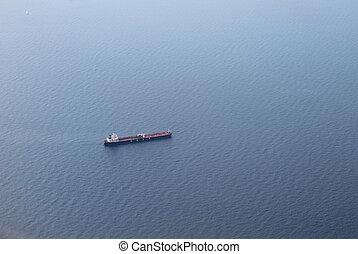száraz, teherhajó, földközi-tenger