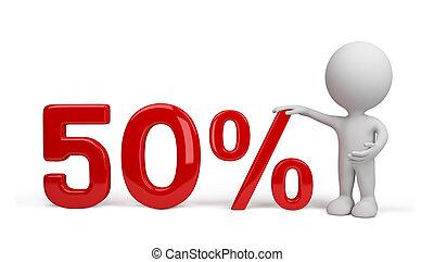 százalék, személy, 3