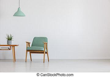 szék, kieszel, hely, nyílik