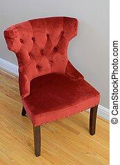 szék, piros