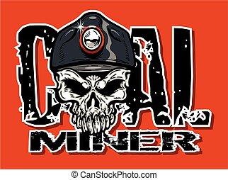 szén bányász