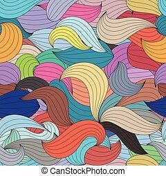 szín, elvont, pattern., seamless, lenget