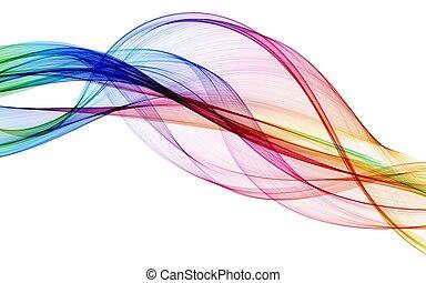 szín, elvont, zenemű