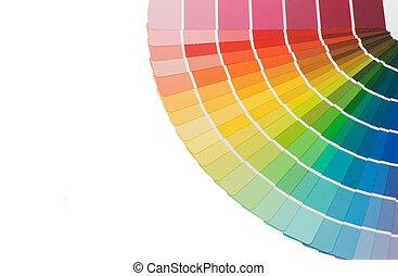 szín, idegenvezető, háttér, elszigetelt, kiválasztás, fehér
