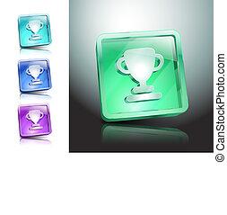 szín, jelkép, adományoz, vektor, ábra, ikon