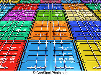 szín, teherárú tároló