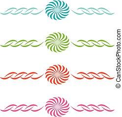 színes, állhatatos, elvont, alakzat