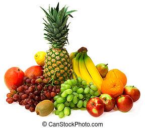 színes, gyümölcs