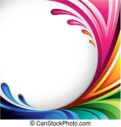 színes, háttér