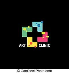 színes, mózesi, geometriai, cégtábla., jelkép., tile., vallásos, logo., elszigetelt, kórház, vektor, számtan, alakít, plusz, orvosi, illustration., klinika, elvont, icon., mentőautó, logotype., kereszt