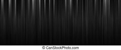 színház, hely, black háttér, függöny, másol, fokozat