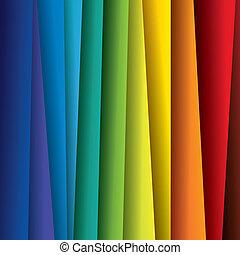 színkép, vagy, szín, színes, ágynemű, graphic., elvont, dolgozat, (backdrop), szivárvány, háttér, ábra, -, vektor, tartalmaz, ez