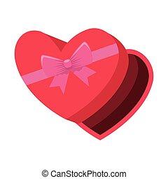 szív alakzat, giftbox