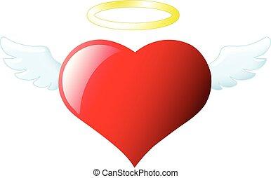 szív, angyal