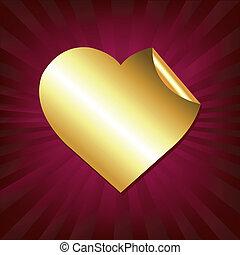 szív, böllér, arany