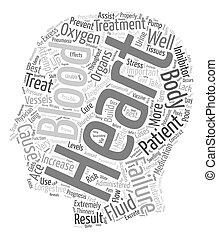 szív, fogalom, orvos, szöveg, hogyan, wordcloud, kezel, háttér, congestive, balsiker