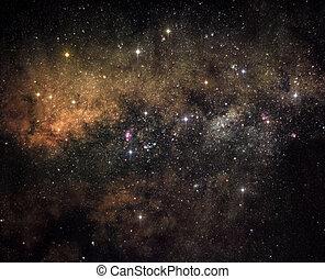 szív, galaktika
