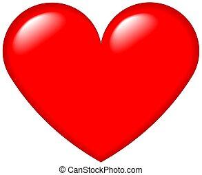 szív, grafikus, 4