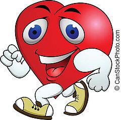 szív, gyakorlás, kartondoboz