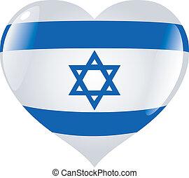 szív, izrael