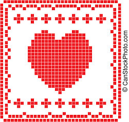 szív, kártya