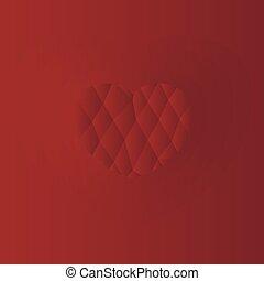 szív, piros háttér
