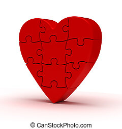 szív, rejtvény