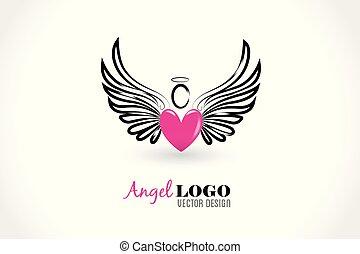 szív, szeret, angyal