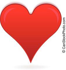 szív, szeret, jel