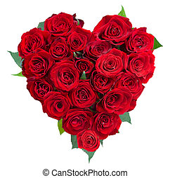 szív, szeret, rózsa, felett, white., valentine., menstruáció