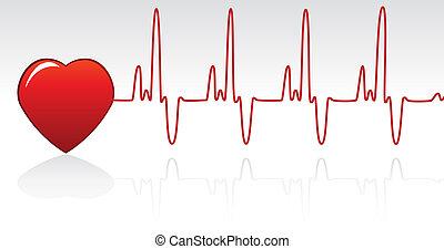 szívdobbanás, szív