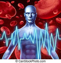 szívroham, figyelmeztetés, ütés, cégtábla