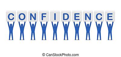 szó, birtok, férfiak, confidence.