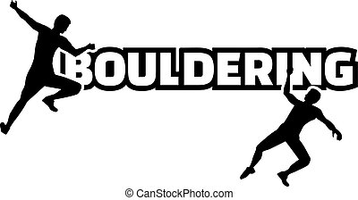 szó, bouldering, árnykép